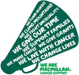Macmillan cancer charity logo