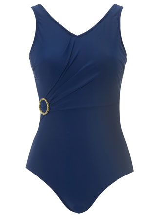 Royal Navy Chic Swimsuit by Nicola Jane