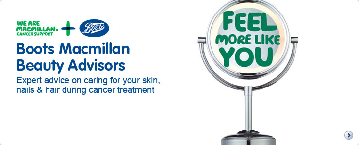 Boots stores launch Macmillan Beauty Advisors' service for cancer patients