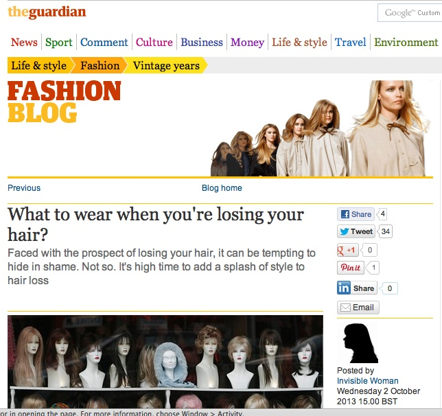 Suburban Turban featured in The Guardian online