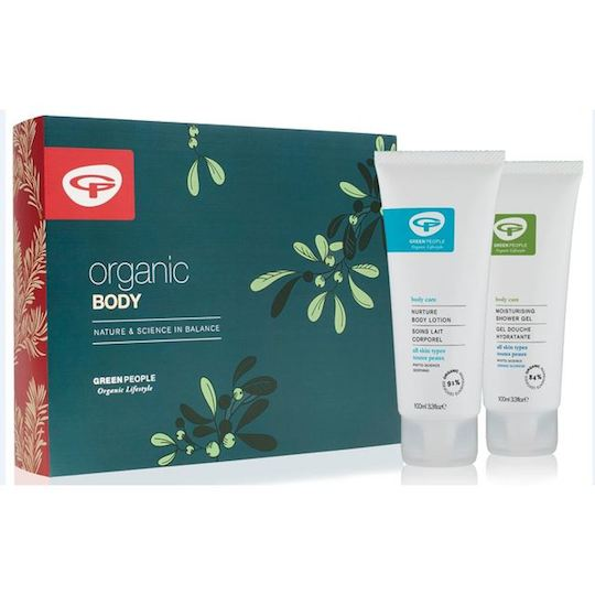 Green People Organic Body Care Christmas Gift Set