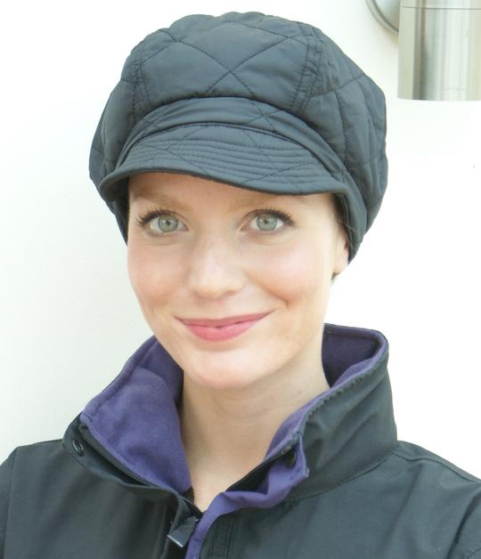 Suburban Turban Poppy waterproof cap