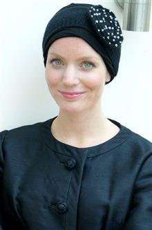 Suburban Turban Alice Hannah seed pearl headband