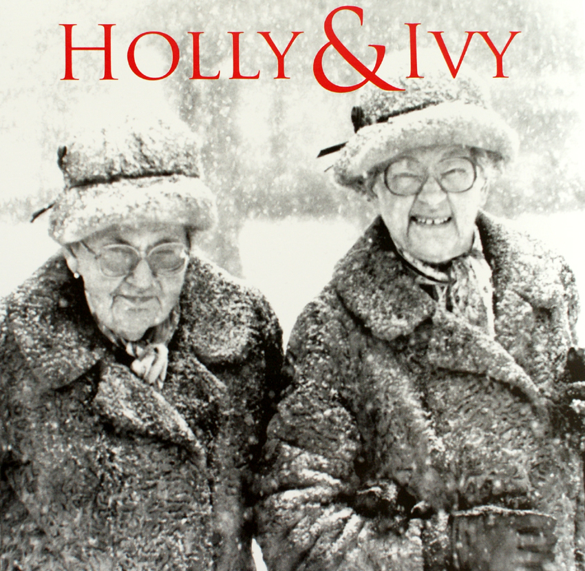 Holly & Ivy Christmas card, from RNLI charity