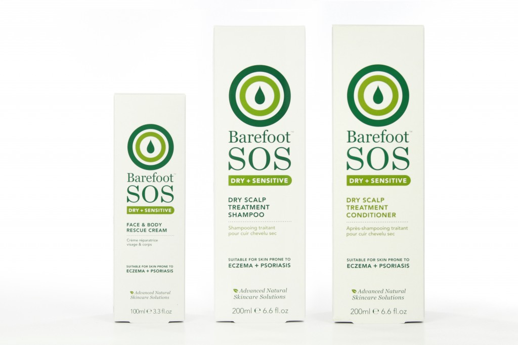 Barefoot SOS skincare products
