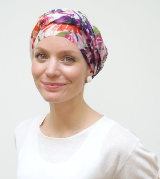 Chemo headscarves by Suburban Turban.com