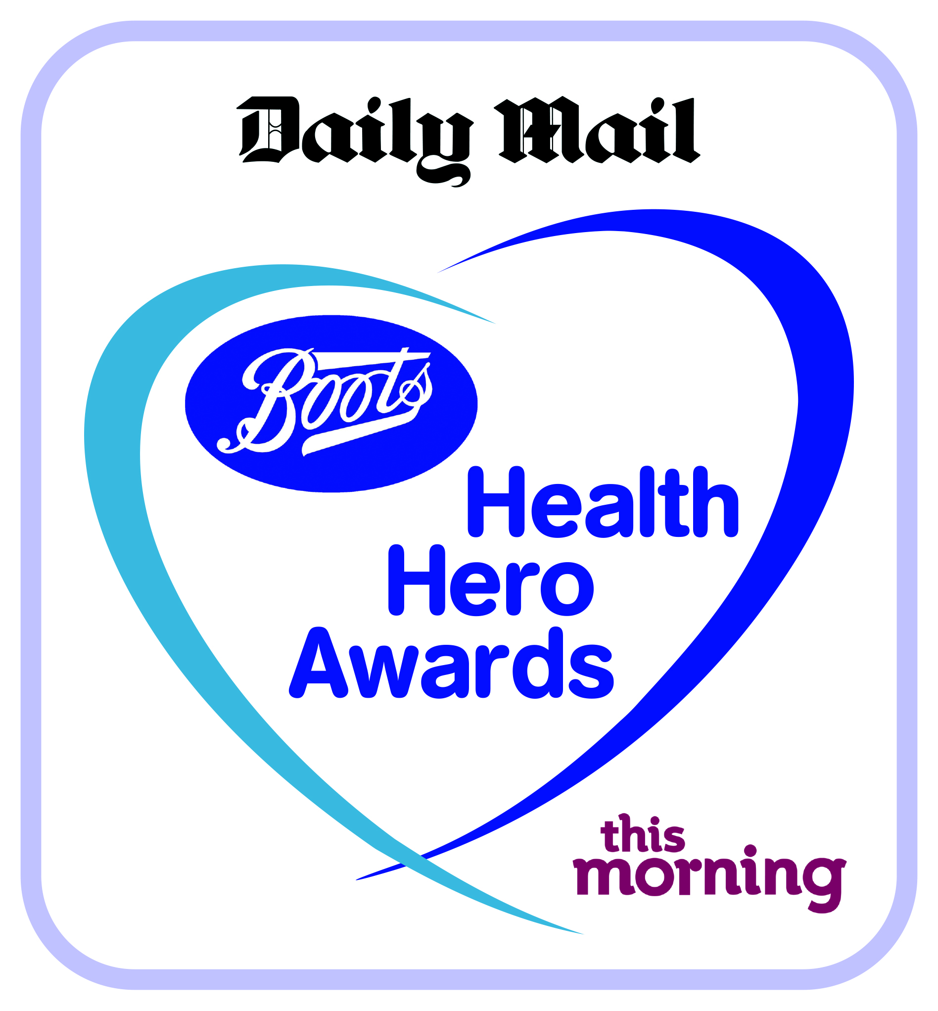 Boots Health Hero Awards logo graphic for 2014