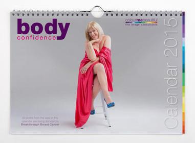 Body Confidence Calendar 2015 for Breakthrough Breast Cancer