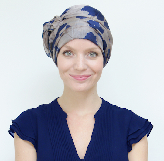 Suburban Turban scarves for hair loss during chemo or alopecia