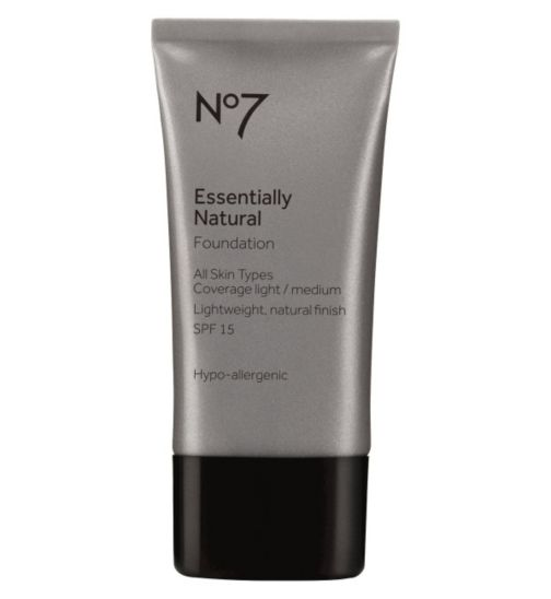 No 7 Essentially Natural  Light Coverage Foundation review