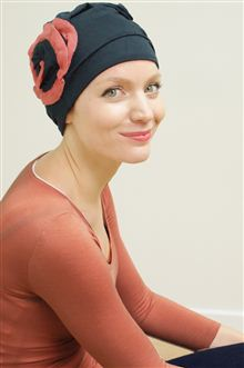 Suzie stylish hat for hair loss Suburban Turban