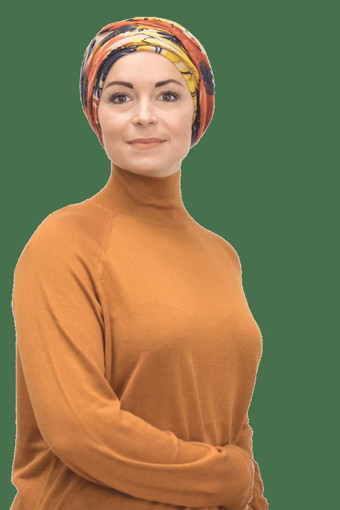 Hair loss Chemo, Alopecia Ladies Floral Fitted HeadScarf Bandana Headwrap Cap